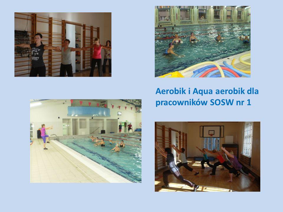 Aerobik i Aqua aerobik dla pracowników SOSW nr 1