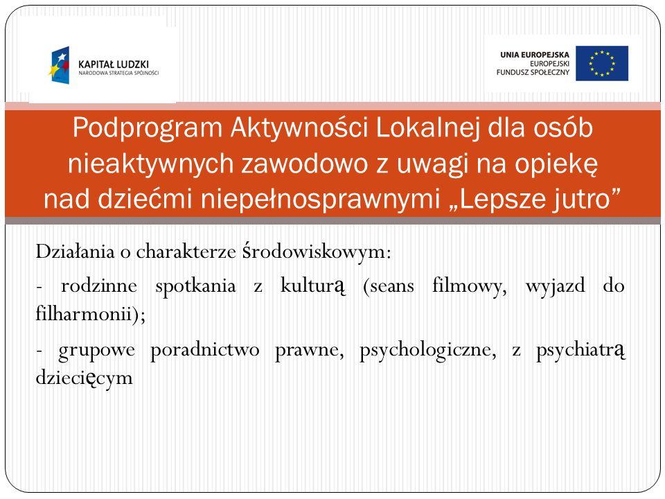 Skierowany do 45 mieszka ń ców Osiedla Brzyszczki i Osiedla Gamrat.