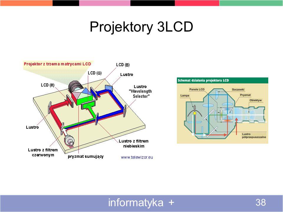 Projektory 3LCD informatyka + 38