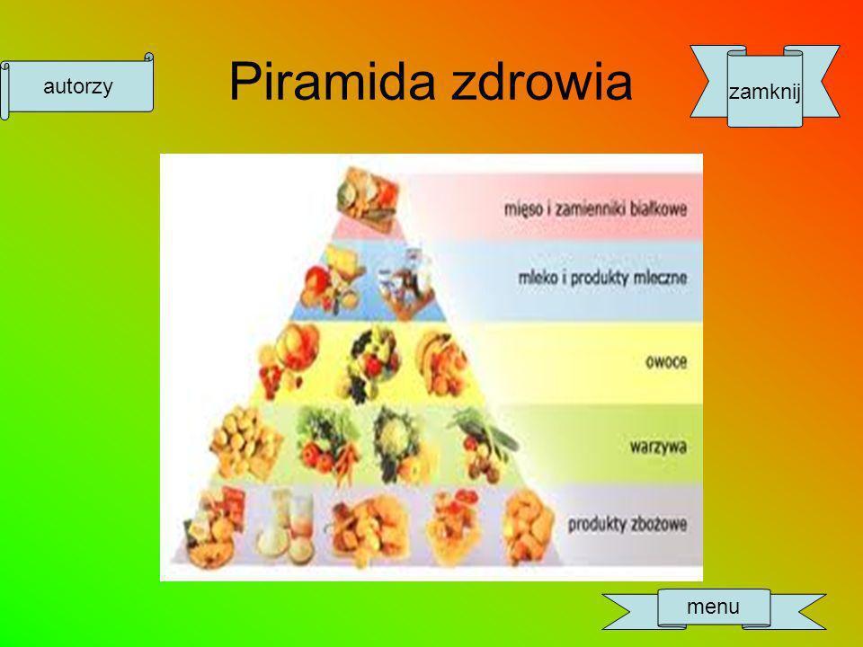 Piramida zdrowia zamknij menu autorzy
