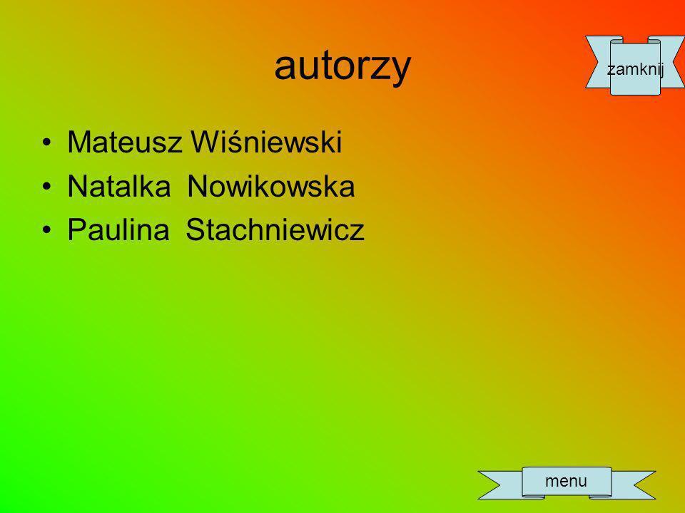 Mateusz Wiśniewski Natalka Nowikowska Paulina Stachniewicz zamknij menu