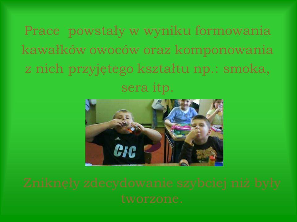 Owocowe utwory młodych wierszokletów.
