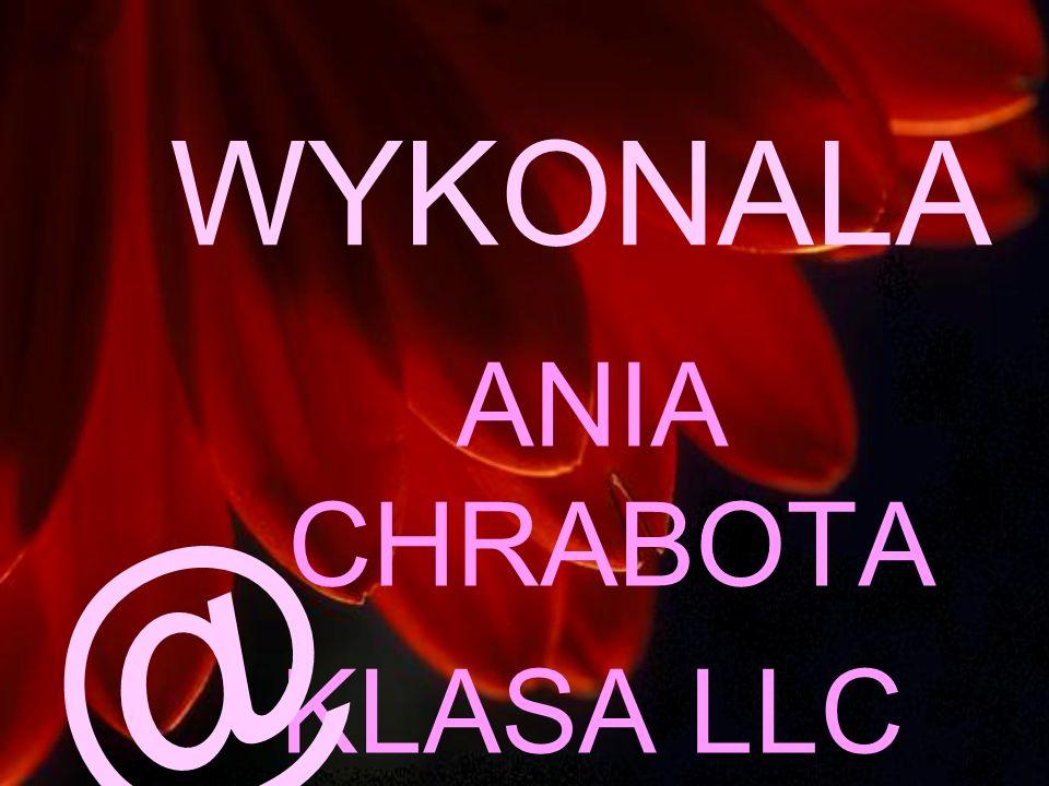 WYKONALA ANIA CHRABOTA KLASA LLC @