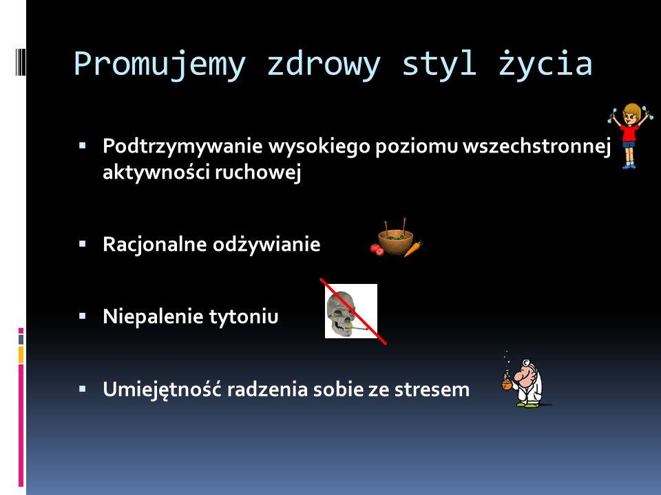 ŻYJMY W ŚWIECIE WOLNYM OD DYMU TYTONIOWEGO Nasze działania: Szkolna strona promocji zdrowia Przedstawienie pt.