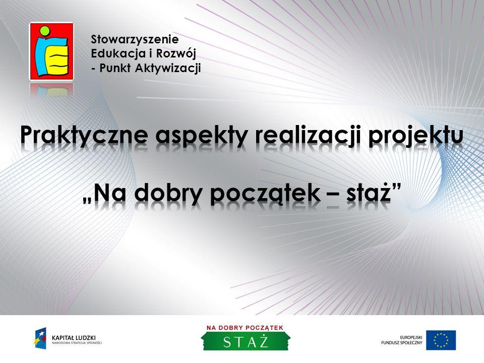 Stowarzyszenie Edukacja i Rozwój - Punkt Aktywizacji Projekt współfinansowany ze środków Unii Europejskiej w ramach Europejskiego Funduszu Społecznego 2