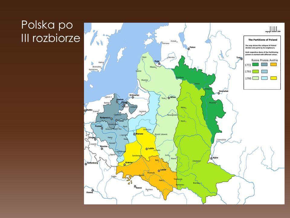 Polska po III rozbiorze