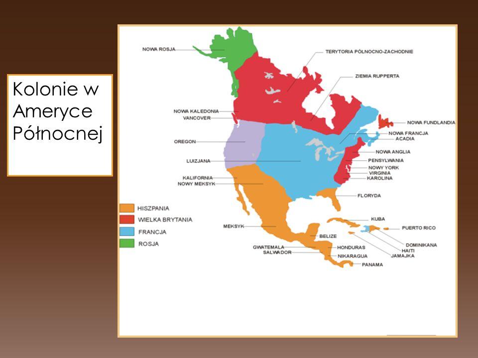 Kolonie w Ameryce Północnej