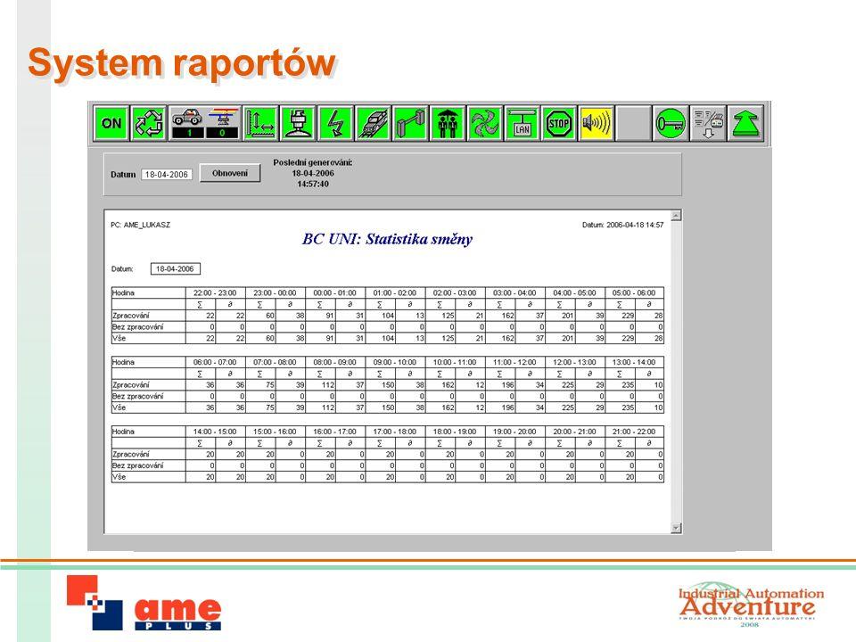 System raportów