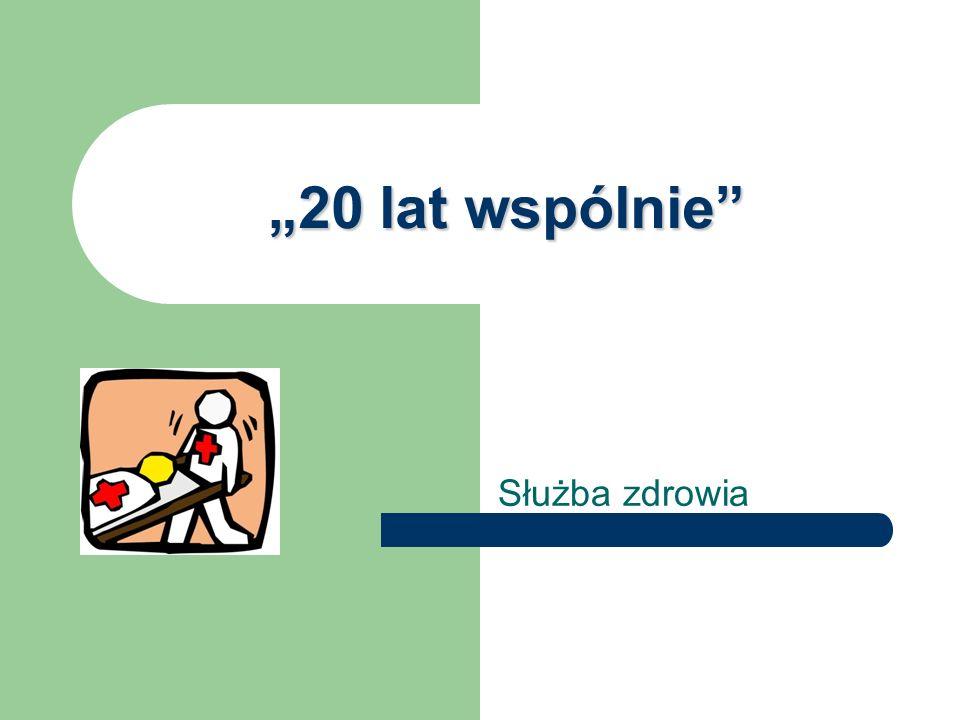 O projekcie… Nasz projekt dotyczy służby zdrowia w latach 1990-2010 w Radzionkowie i okolicach.W tym celu został przeprowadzony wywiad z Barbarą Dąbrowską i Bożeną Wiercioch- pracownikami służby zdrowia pamiętającymi te czasy.