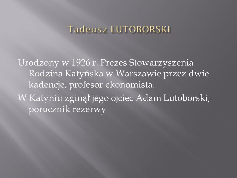Urodzony w 1926 r.