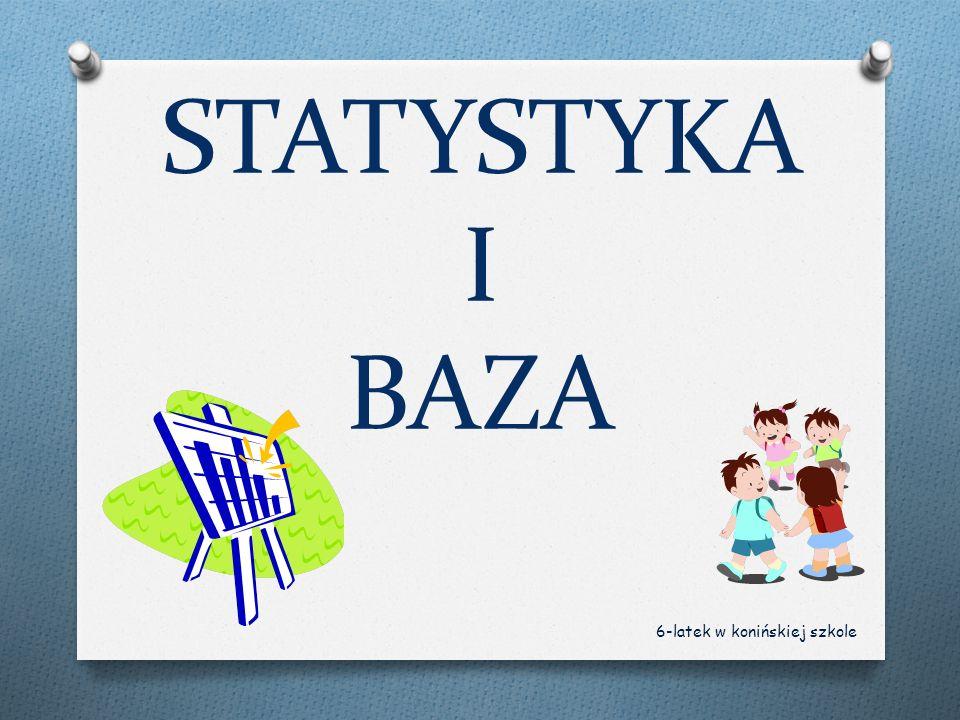 STATYSTYKA I BAZA 6-latek w konińskiej szkole