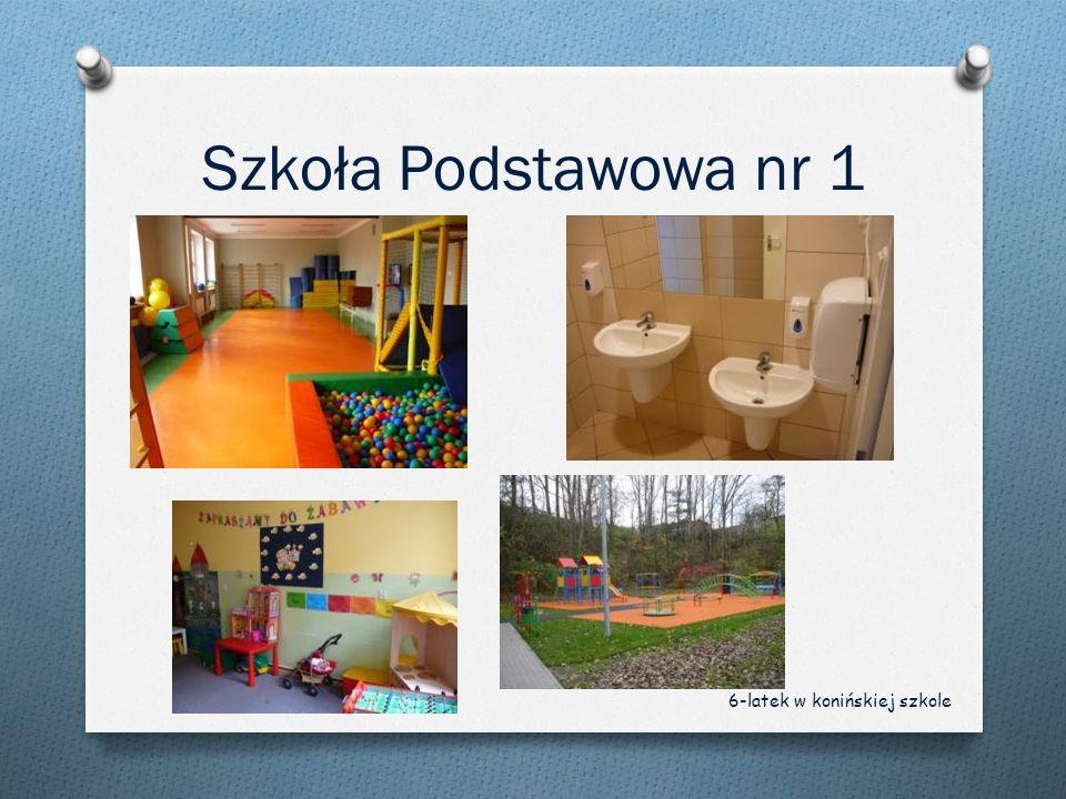 Szkoła Podstawowa nr 1 6-latek w konińskiej szkole