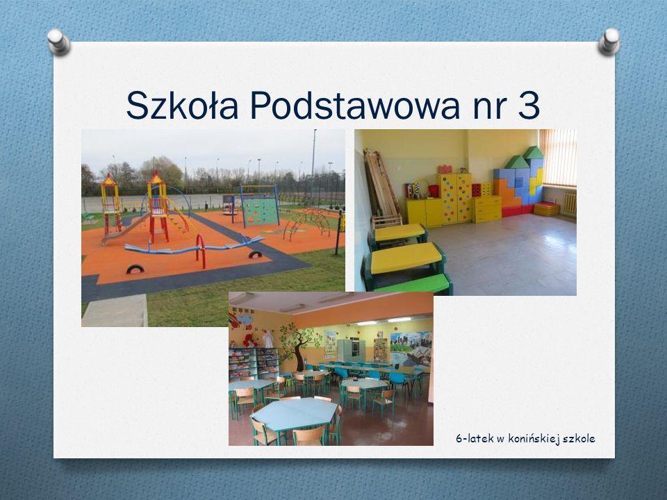 Szkoła Podstawowa nr 3 6-latek w konińskiej szkole