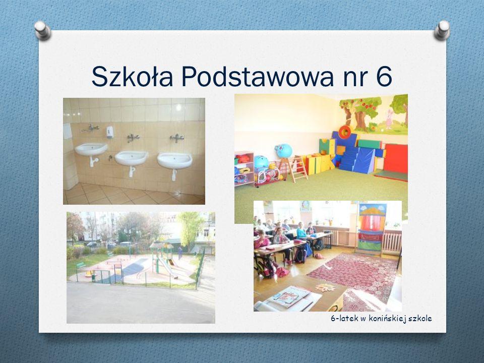 Szkoła Podstawowa nr 6 6-latek w konińskiej szkole