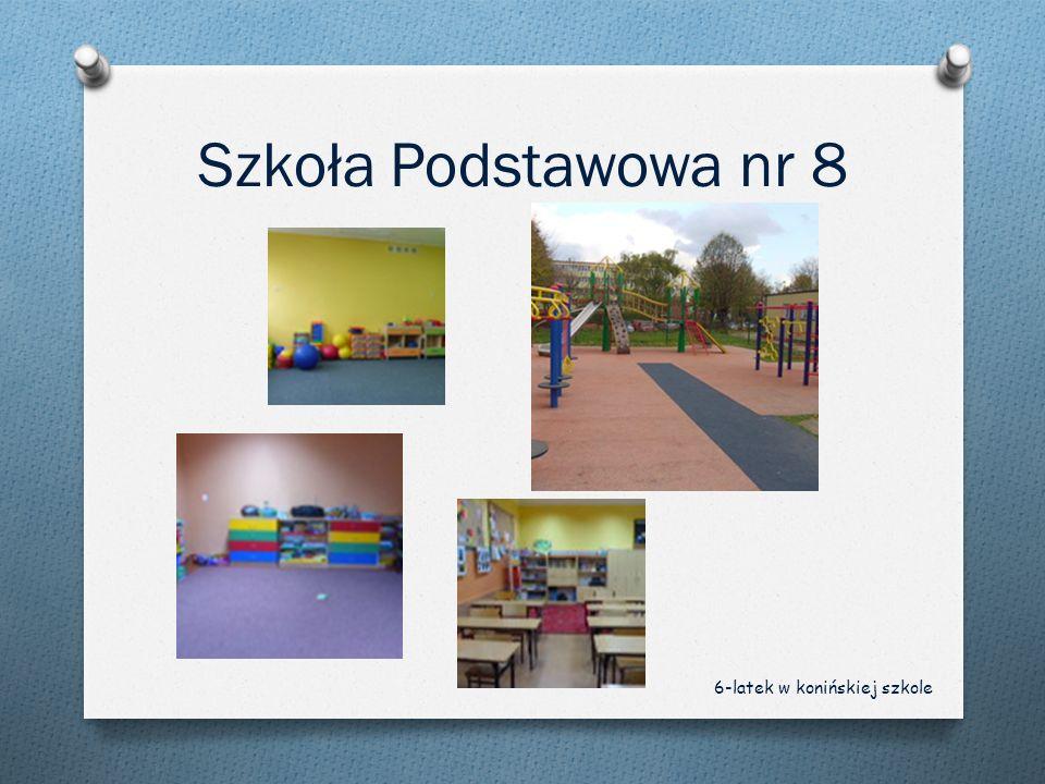 Szkoła Podstawowa nr 8 6-latek w konińskiej szkole