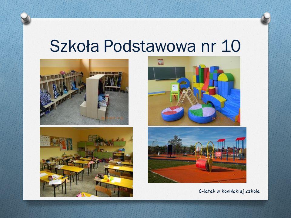 Szkoła Podstawowa nr 10 6-latek w konińskiej szkole