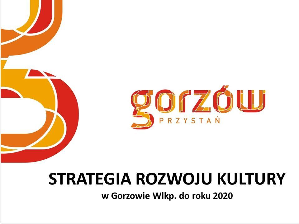 STRATEGIA ROZWOJU KULTURY w Gorzowie Wlkp. do roku 2020