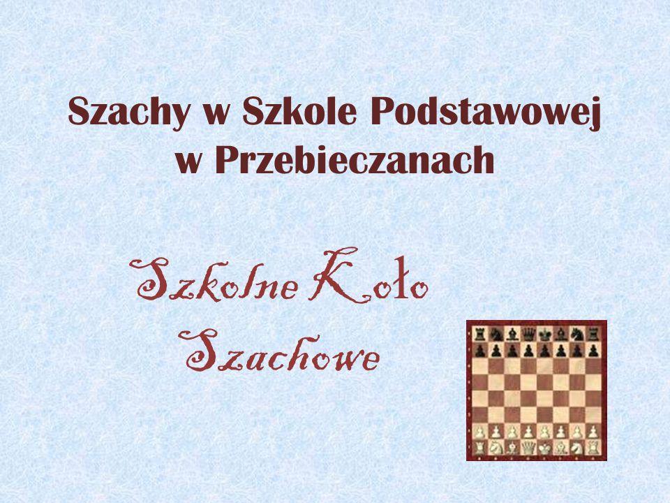 Jak to z szachami w szkole było… Lata 1985-1995 Pierwsze zajęcia szachowe w Szkole Podstawowej w Przebieczanach odbywały się już w latach osiemdziesiątych.