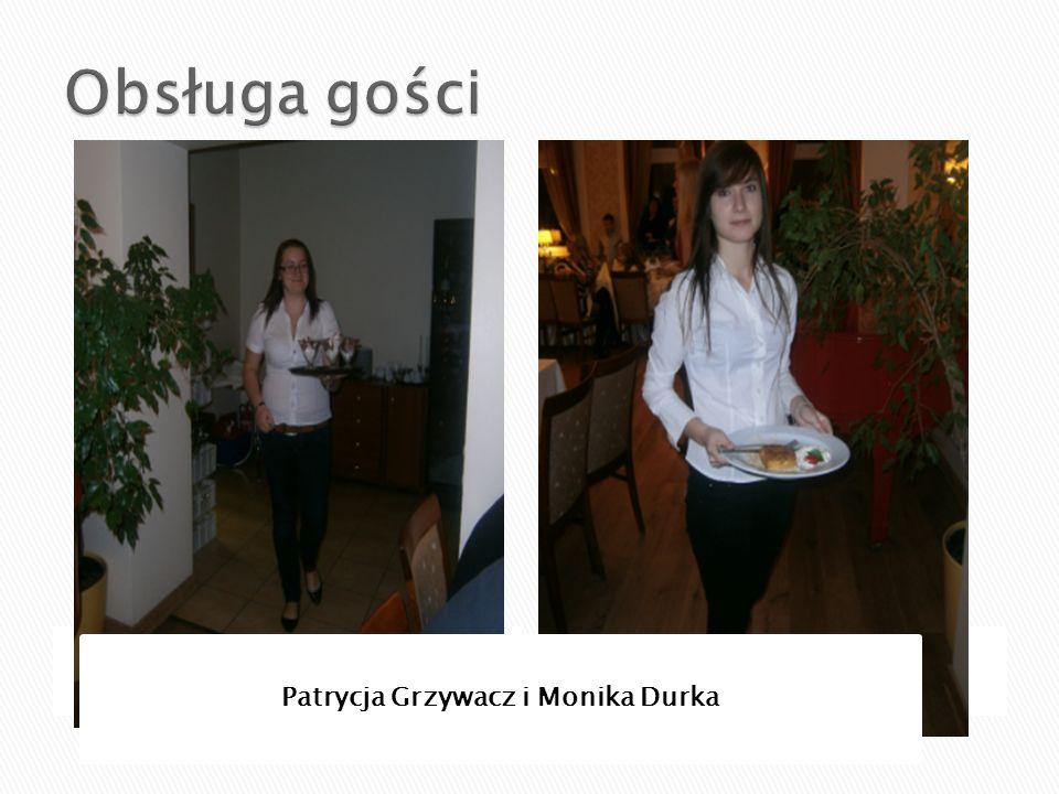 Patrycja Grzywacz i Monika Durka
