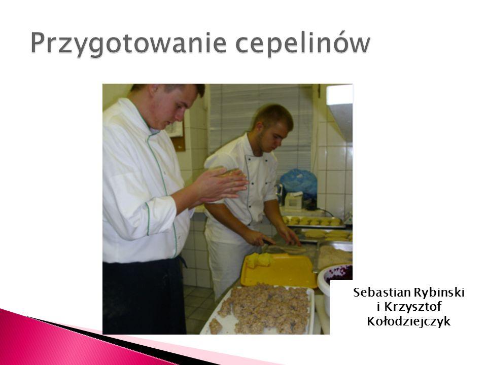 Sebastian Rybinski i Krzysztof Kołodziejczyk