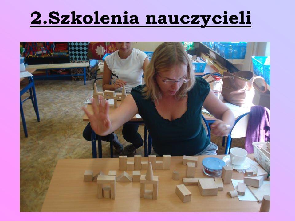 2.Szkolenia nauczycieli