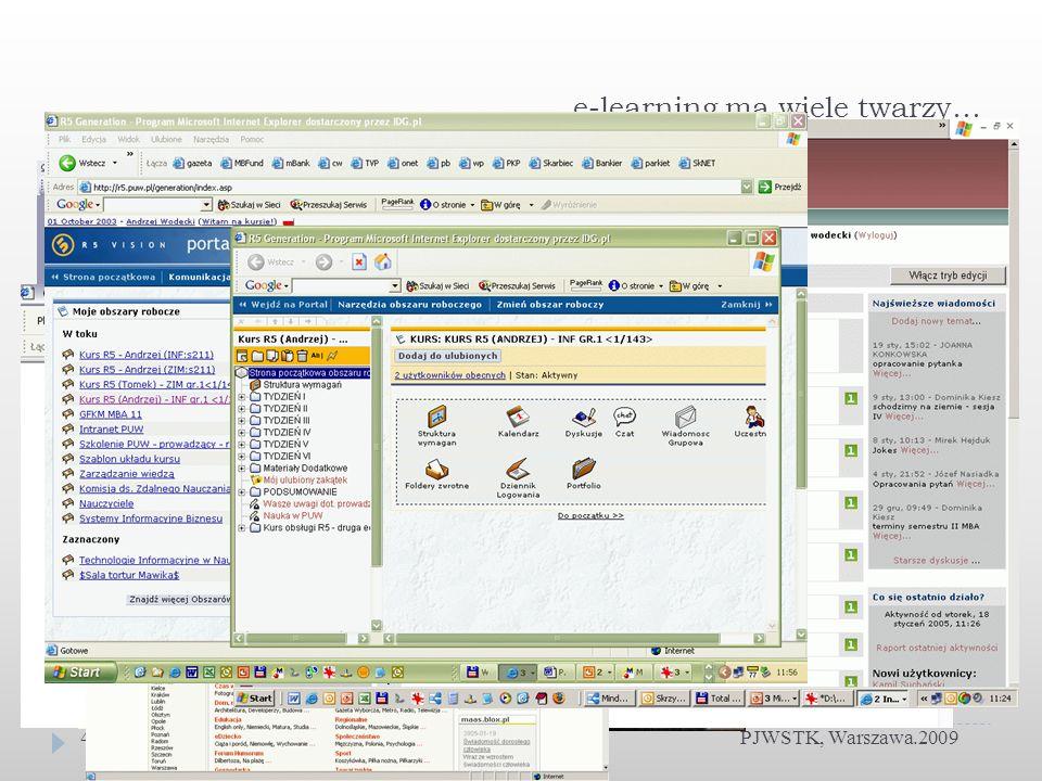 Technologia SOA PJWSTK, Warszawa 200925 Zalety wykorzystania SOA: ujednolicenie opisu działania systemu uporządkowanie procesów w organizacji umożliwienie wdrożenia procesów śledzenia procesów