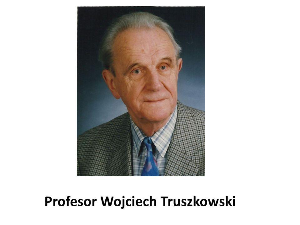 Profesor Wojciech Truszkowski