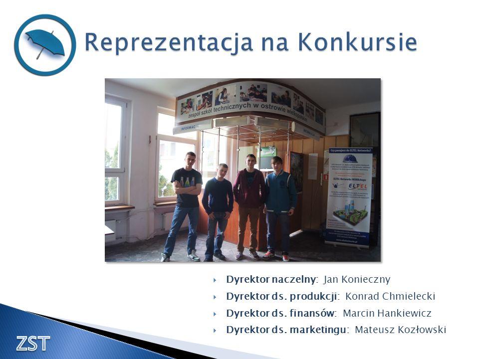 Dyrektor naczelny: Jan Konieczny Dyrektor ds. produkcji: Konrad Chmielecki Dyrektor ds. finansów: Marcin Hankiewicz Dyrektor ds. marketingu: Mateusz K