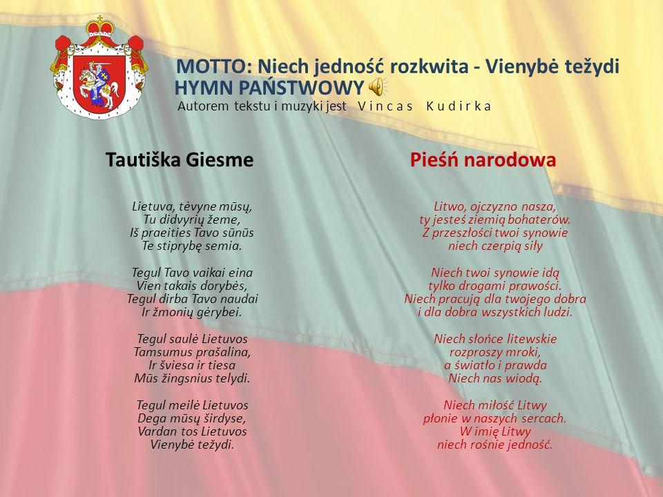 Informacje ogólne Litwa, (Lietuva) państwo położone w Europie Wschodniej, na południowo- wschodnim wybrzeżu Morza Bałtyckiego.