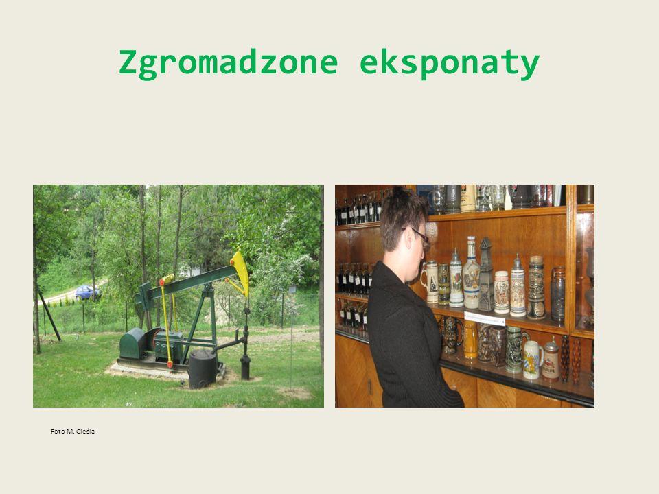 Zgromadzone eksponaty Foto M. Cieśla
