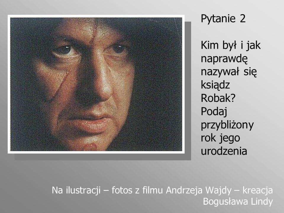 Pytanie 3 Masz szczęście – najłatwiejsze pytanie konkursu: Z ilu ksiąg składa się epopeja Pan Tadeusz.