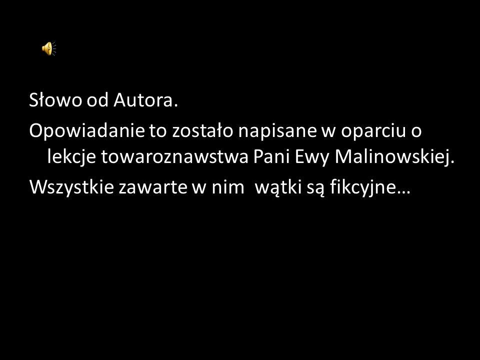 Słowo od Autora.