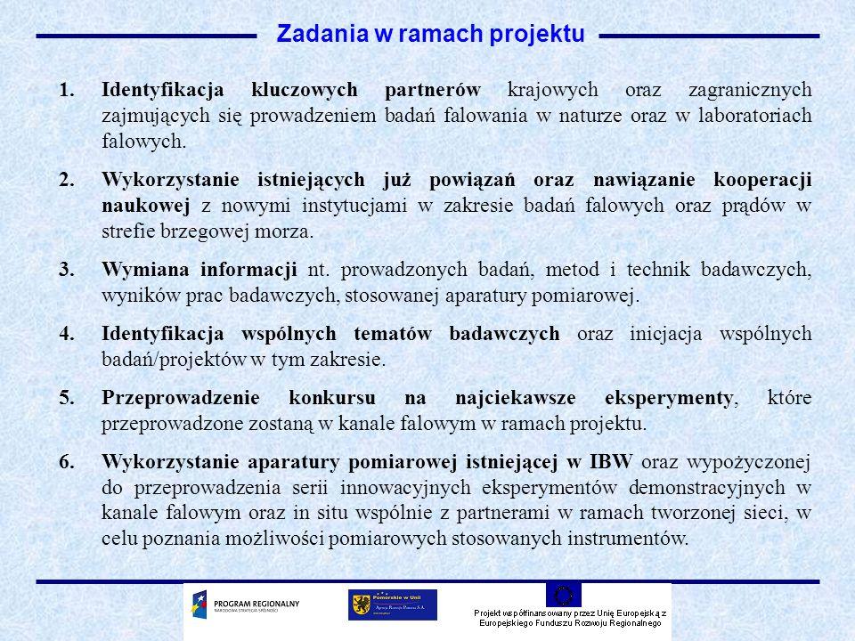 7.Przeprowadzenie seminarium dla uczestników sieci oraz zaproszonych instytucji zainteresowanych tematyką badań falowych (np.