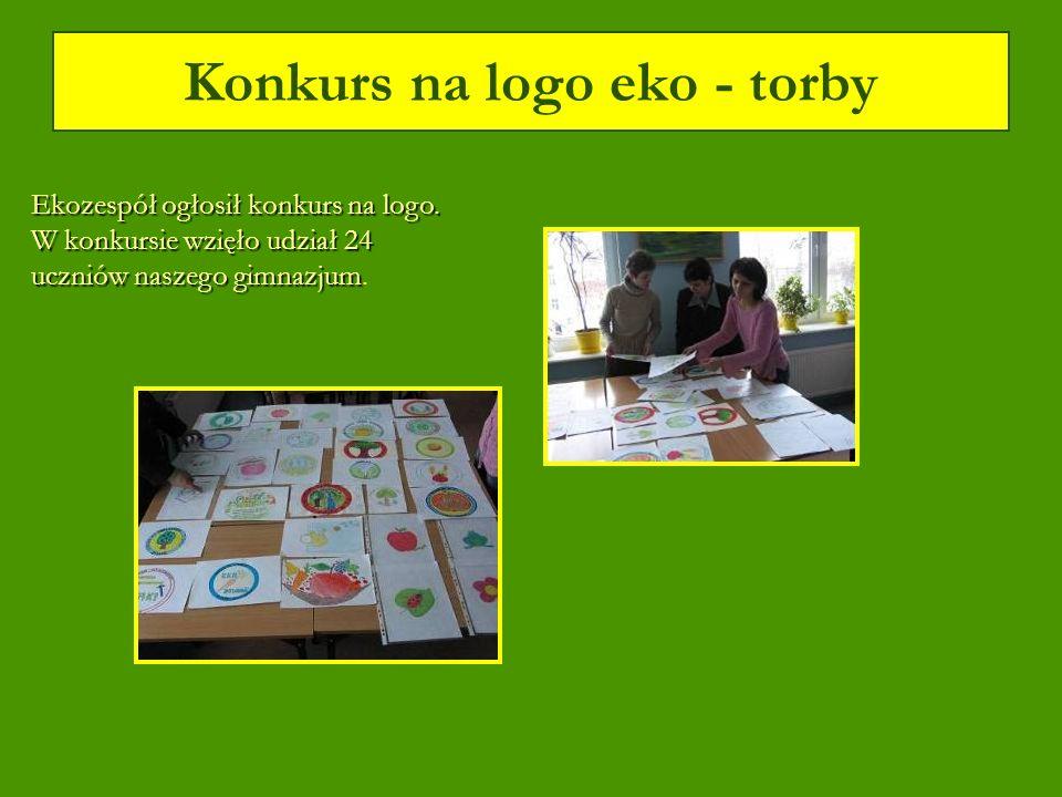 Konkurs na logo eko - torby Ekozespół ogłosił konkurs na logo.