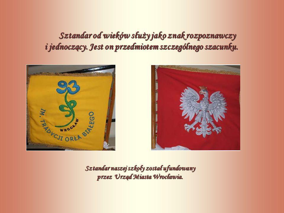 Sztandar od wieków służy jako znak rozpoznawczy i jednoczący.
