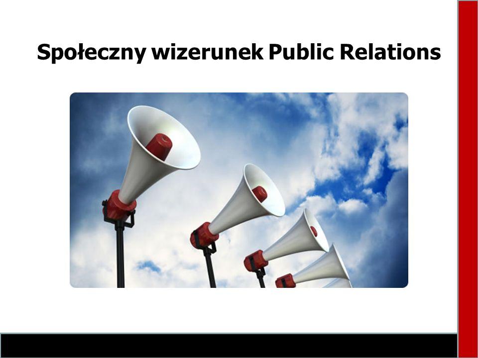 Definicje PR według respondentów (69) Reklamowanie usług Propaganda stosowana Promowanie firmy w mediach Przedstawianie nawet miernej firmy, organizacji, grupy ludzi w dobrym świetle Kształtowanie pozytywnego wizerunku jakiegoś podmiotu (osoby, instytucji) i jego relacji z otoczeniem Promowanie wizerunku