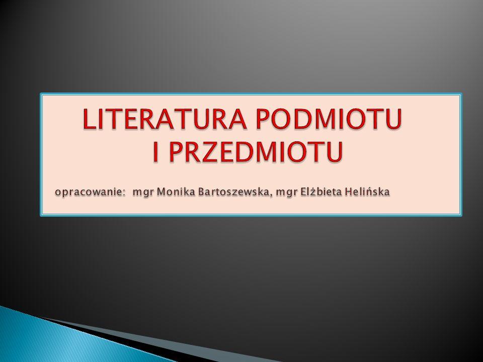 a) to materiał lekturowy wykorzystywany przy tworzeniu wypowiedzi na dany temat (bezpośrednie źródła na których bazujemy w czasie prezentacji).