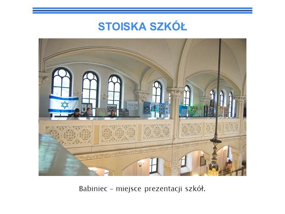 STOISKA SZKÓŁ Babiniec – miejsce prezentacji szkół.