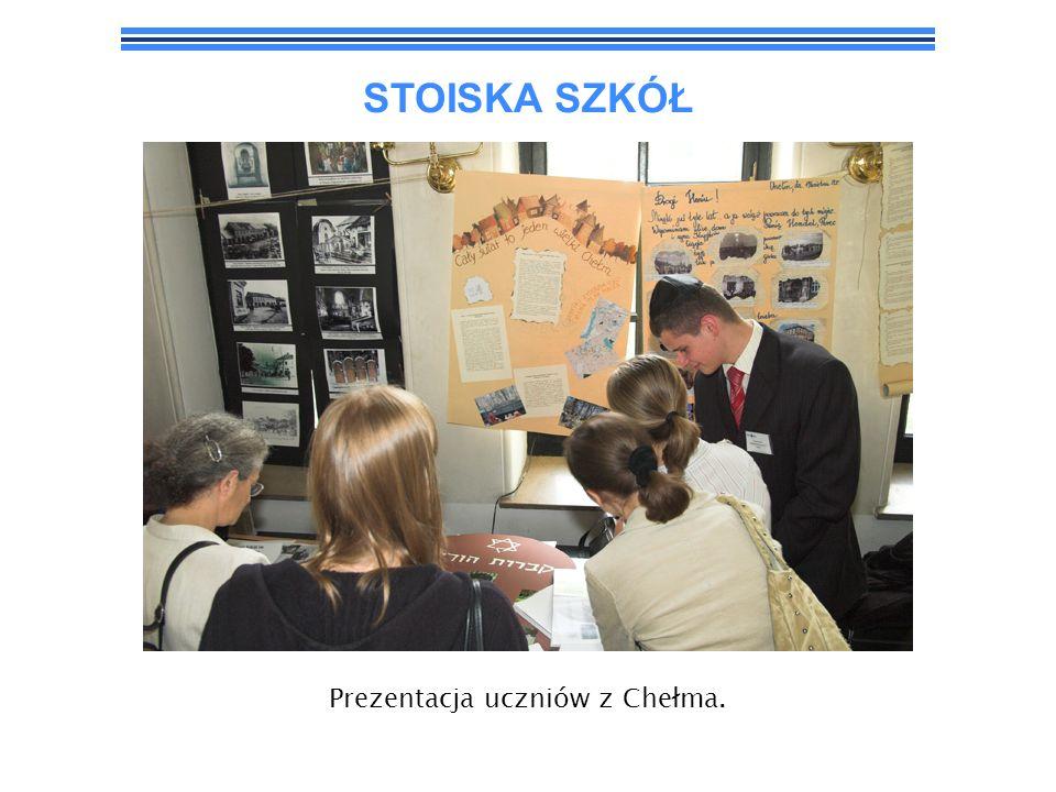 STOISKA SZKÓŁ Prezentacja uczniów z Chełma.
