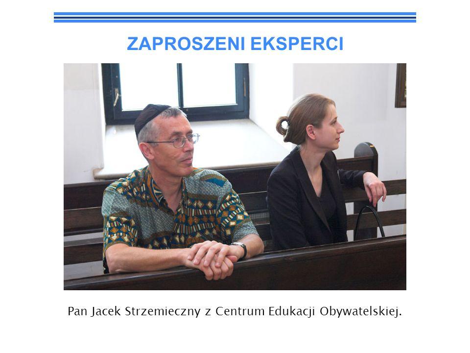 ZAPROSZENI GOŚCIE Pan Piotr Kadlčik, przewodniczący Związku Gmin Wyznaniowych Żydowskich w Polsce.