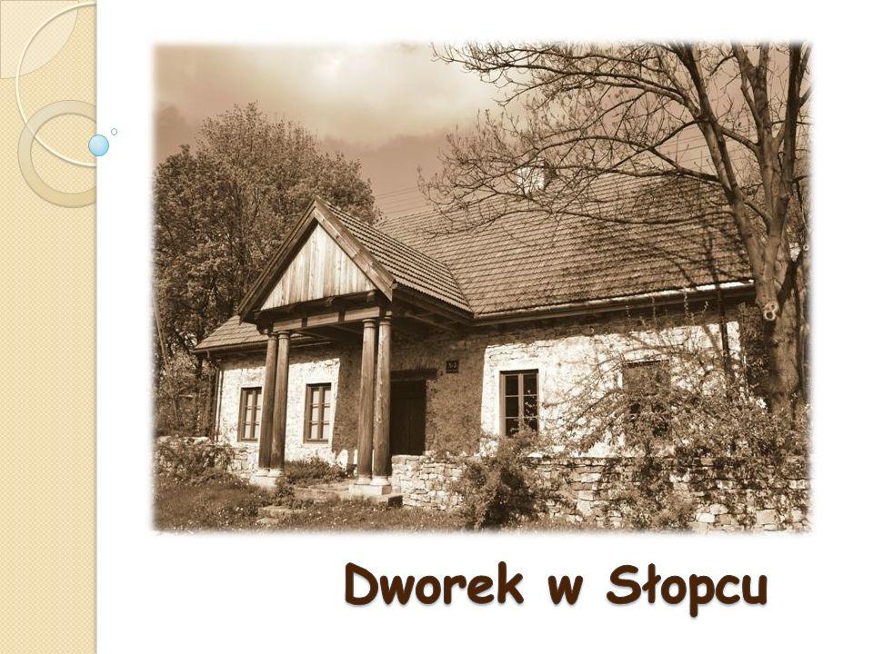 Dworek w Słopcu to jeden z najstarszych zabytków tej miejscowości.