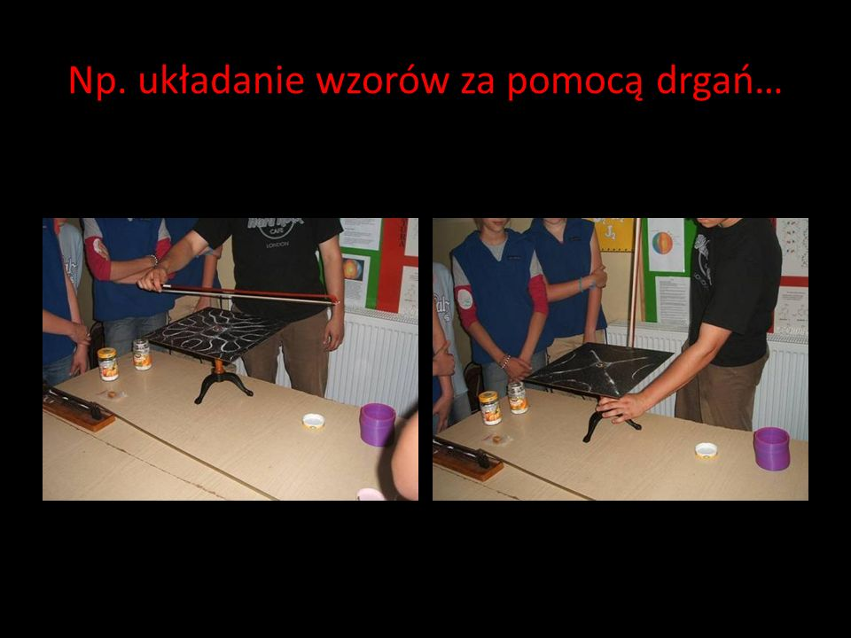 Tymczasem do naszej szkoły zawitało kilku studentów, pokazać szereg ciekawych eksperymentów.