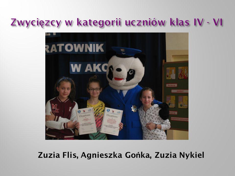 Zuzia Flis, Agnieszka Go ń ka, Zuzia Nykiel