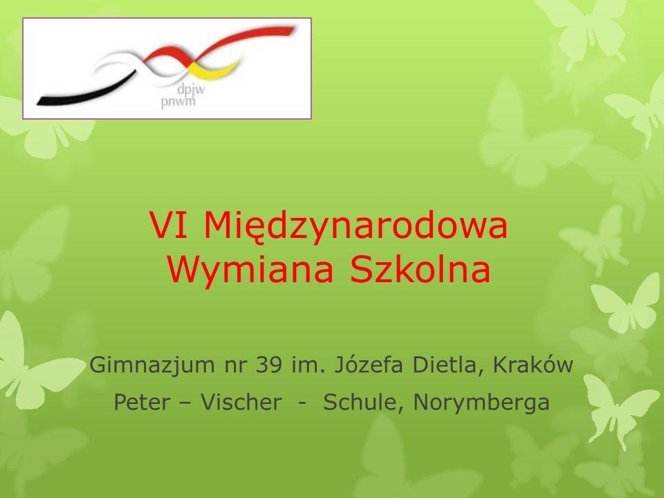W szóstej edycji wymiany Peter – Vischer – Schule z Gimnazjum 39 im.
