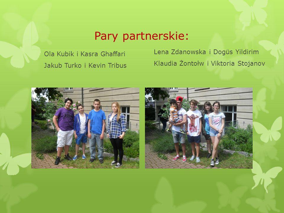 Pary partnerskie: Kasia Mleko i Lukas von Seydewitz Julia Kafara i Jost Hye Marta Mączka i Corinna Platzer Natalia Niedzielska i Bastian Koehler