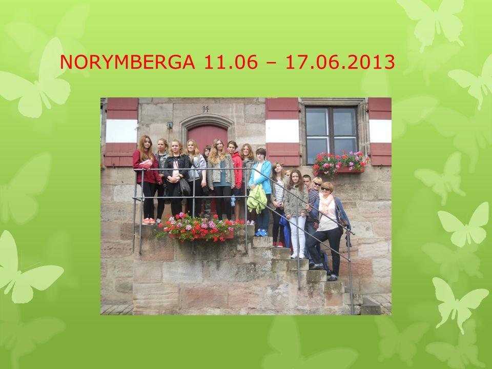 VI Międzynarodowa Wymiana Szkolna Gimnazjum nr 39 im. Józefa Dietla, Kraków Peter – Vischer - Schule, Norymberga