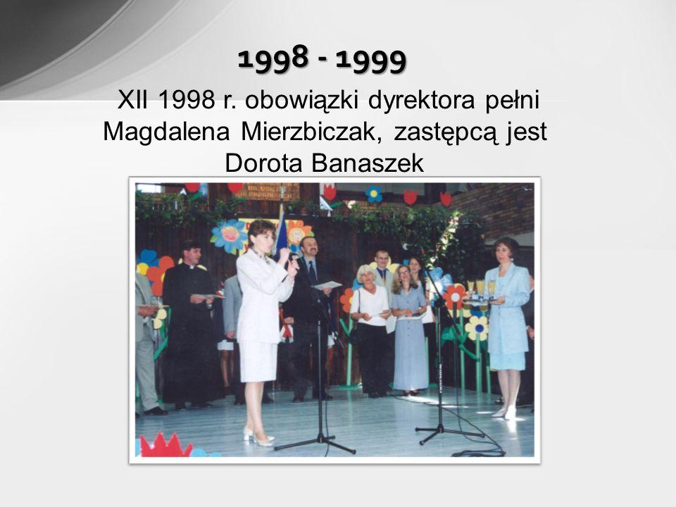 1998 - 1999 XII 1998 r.