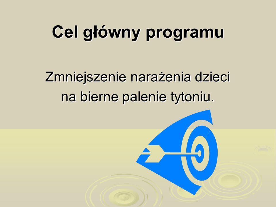 Cele szczegółowe programu Uporządkowanie i poszerzenie informacji na temat zdrowia.