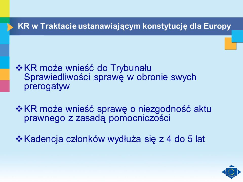 Click to edit Master title style Click to edit Master text styles Second level Third level Fourth level Fifth level 20 KR w Traktacie ustanawiającym k