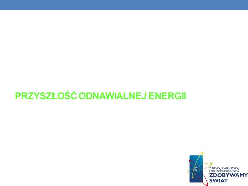 PRZYSZŁOŚĆ ODNAWIALNEJ ENERGII